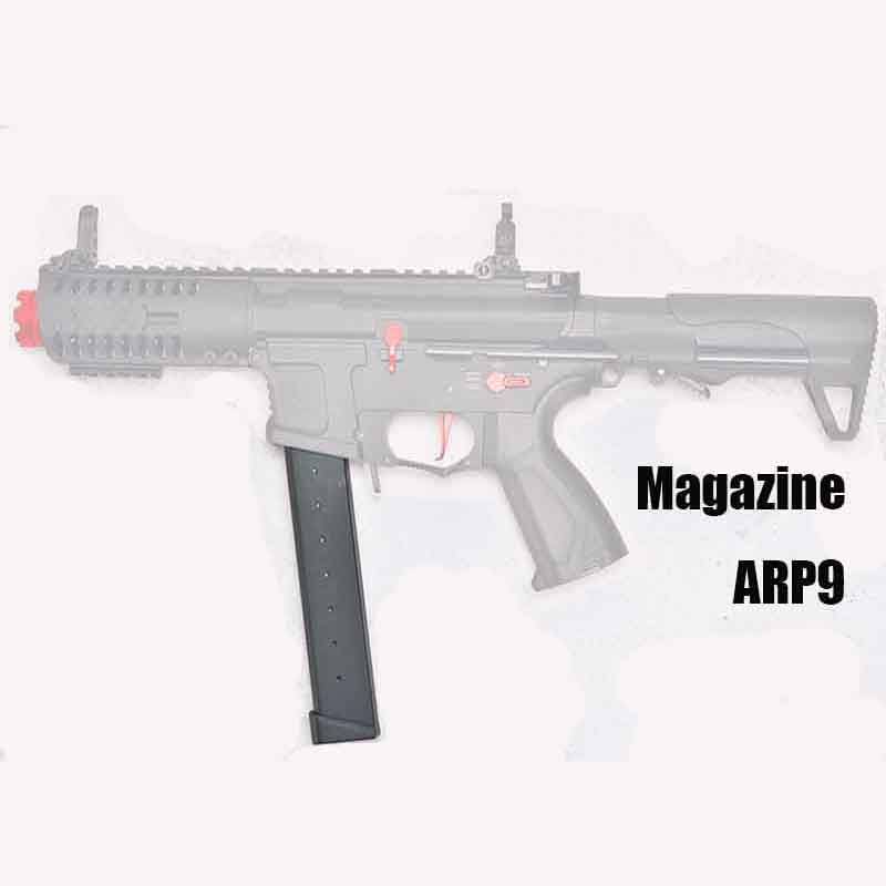 ZhenDuo Toys Small Moon Arp9 Ammo Clip Water Gel Blaster Parallelizer Electric Burst Toy Gun Adult Live CS Charger Accessories