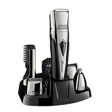8in1 ชุดมีดโกนหนวดไฟฟ้าสำหรับผู้ชายมีดโกนหนวดไฟฟ้า Body groomer trimmer เคราเครื่องโกนหนวดคิ้ว trimmer