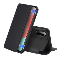 DUX DUCIS Skin X Series Luxury Leather Wallet Case Flip Case Magnetic Closure Super Soft with card slot For Samsung Galaxy A41