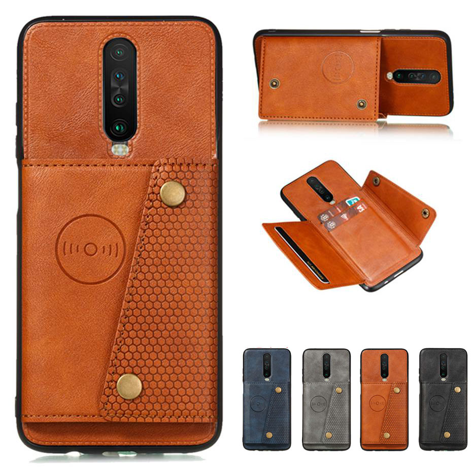 Flip Leather Case For Xiaomi Redmi K30 Pro Card Slot Holder Case For Xiaomi Redmi K30 Pro Wallet Phone Cover