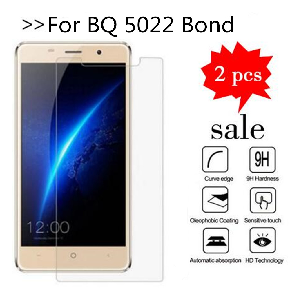 For BQ 5022 Bond Tempered Glass Original 9H High Quality Protective Film Explosion-proof Screen Protector For BQ 5022 Bond image
