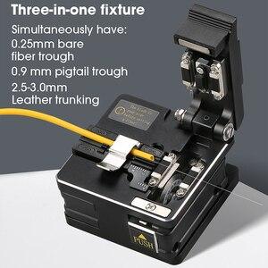 Image 4 - Novo SKL S2 fiber cleaver cabo faca de corte fttt fibra óptica faca ferramentas cortador de alta precisão fibra cleavers 16 lâmina de superfície