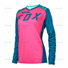 2021 New Women Downhill Jerseys MTB Bike Shirts Offroad DH Motorcycle Jersey Motocross Sportwear Clothing FXR bike YETIing