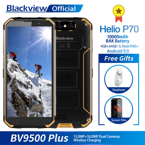 Blackview BV9500 Plus Helio P70 Octa Core Smartphone 10000mAh IP68 Waterproof 5.7inch FHD 4GB + 64GB Android 9.0 Mobile phone(China)