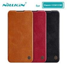Caes voor Xiaomi Mi 9 Lite CC9 CC9E CC 9 9E Nillkin Qin Serie PU Leather Flip Cover Voor Xiaomi Mi A3 Case