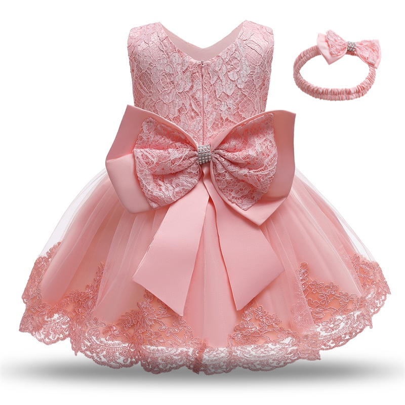 Kids Dress for Girls Summer Dresses for Party and Wedding Christmas Clothing Princess Flower Tutu Dress Children Prom Ball Gown 5