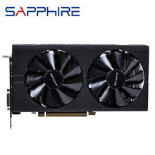 Sapphire radeon rx570 8gb placas gráficas, originais, jogo de computador, mapa hdmi, rx 570, gpu amd radeon rx570 pci-e x16 não mineração