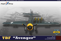 In Stock For Sale 1/18 US TBF Avenger Torpedos Bomber Fighter Display Model Airplane Aircraft