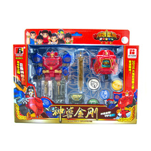 Dinosaur Rangers Megazords Morpher Assembly Dinozords Action Figure Toys Transformation Robot Children Gifts assembled megazord robots dinozords transformation action figure toys deformation dinosaur rangers robot boy children gifts