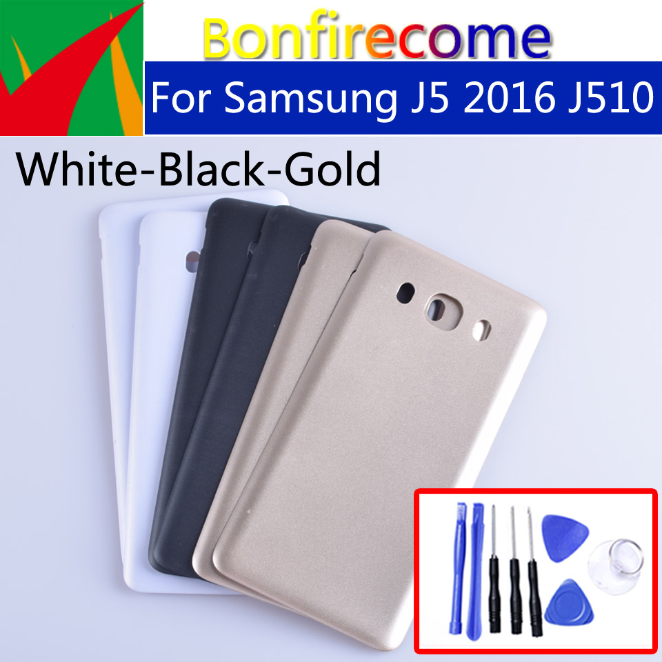 J510 For Samsung Galaxy J5 2016 J510 J510F J510FN J510G J510Y J510M Housing Battery Cover Back Cover Case Rear Door Chassis