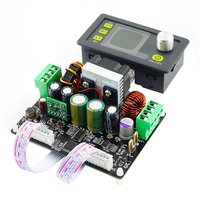 DPH3205 Buck boost Converter Constant Voltage Current Programmable Digital Control Power Supply Color LCD Voltmeter 32V 5A|Energy Meters| |  -