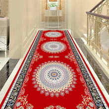 Moroccan National Style Carpet Area Rugs Flannel Anti-slip Bedroom Bohemia Long Carpets for Living Room Modern