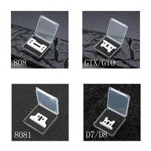 2/10/50/100/500 шт Керамика подвижное лезвие с коробкой для аккумуляторная машинка для стрижки D8 T-планировщик 8081 detailer GTO Сменное лезвие
