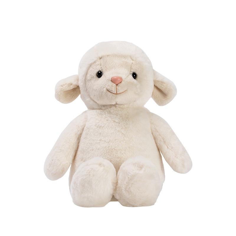 Hot Sale 23cm Super Soft Stuffed Sheep Plush Toys Kids Lovely Sheep Animal Appease Dolls Wedding Present Baby Birthday Gifts