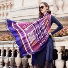 ขนสัตว์ผ้าพันคอผู้หญิงผ้าคลุมไหล่ Elegant ผ้าพันคออบอุ่นผ้าคลุมไหล่ผ้าพันคอผ้าพันคอผ้าพันคอแบรนด์หรูมุสลิม Hijab ชายหาดผ้าห่ม Face Shield Foulard