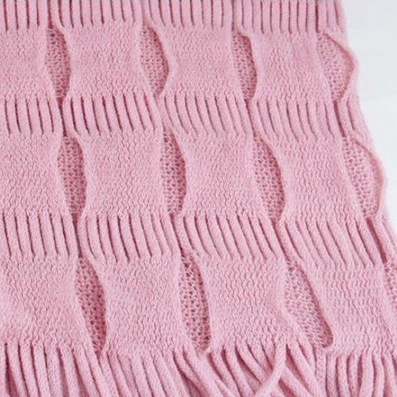New Fashion Womens Winter Warm Knitted Layered Fringe Tassel Neck Circle Shawl Snood Scarf Cowl SER88