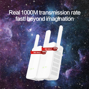 Image 2 - 1 زوج GLVISION GLP15 1000Mbps PLC محول الشبكة اللاسلكية موسع واي فاي ، IPTV ، Homeplug AV باورلاين إيثرنت محول PLC