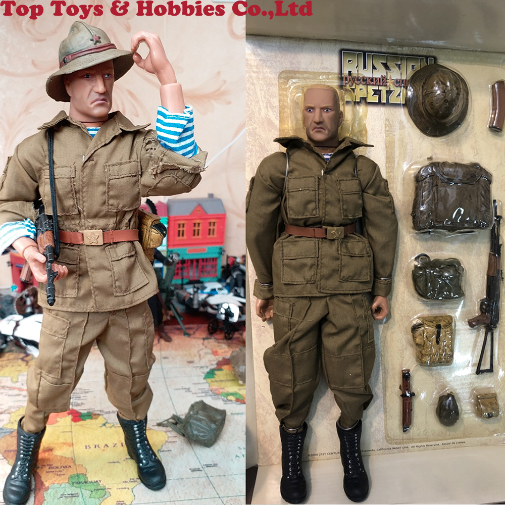 Full Set 1/6 Scale PVC Soldier Specia Force Model Set 12inch Russia Soviet Union Afghanistan Action Figure Toys