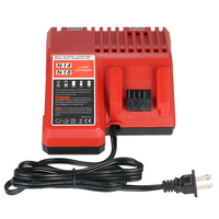 18V High Quality Power Tool Lithium Battery Charger Replacement for Milwaukee M18