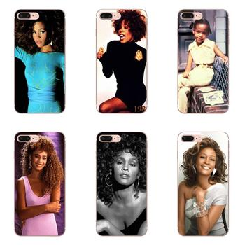 Soft TPU Cases Capa Cover For Xiaomi Mi A1 A2 A3 CC9 CC9E 9T mi10 mi9 mi8 pro lite SE Retail Whitney Houston Star image