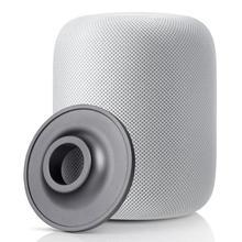 Inteligente Bluetooth Speaker Metal Base Pad Titular Suporte 95*95*20mm Personalizado Círculo Rodada Carrinho do Aço Inoxidável para A Apple HomePod
