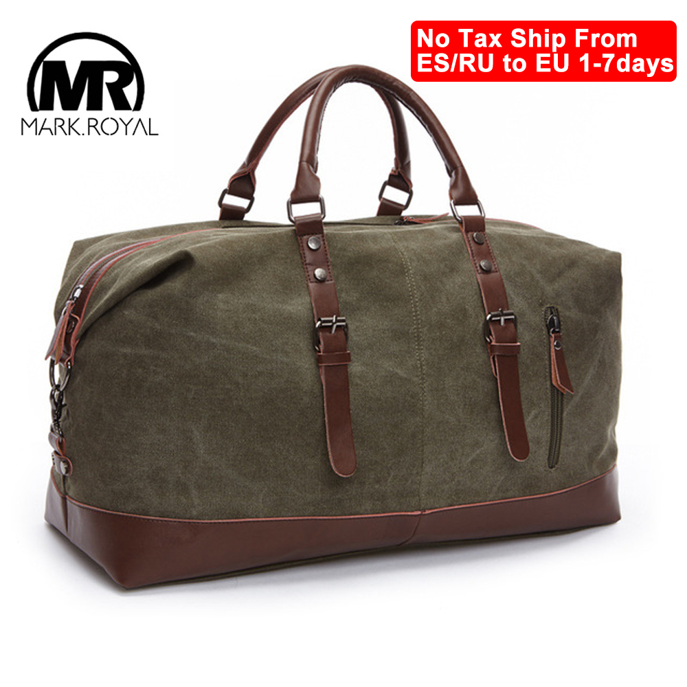 MARKROYAL Large Capacity Travel Bags Luggage Canvas Bag Leisure Handbag Cut proof Shoulder Bag Overnight Travel Bag Dropshipping