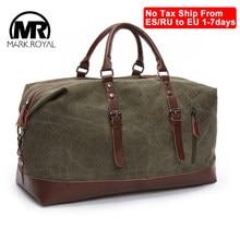 MARKROYAL – sacs de voyage de grande capacité, sac à main en toile, sac de loisirs, sac à bandoulière découpé, sac de voyage pour la nuit