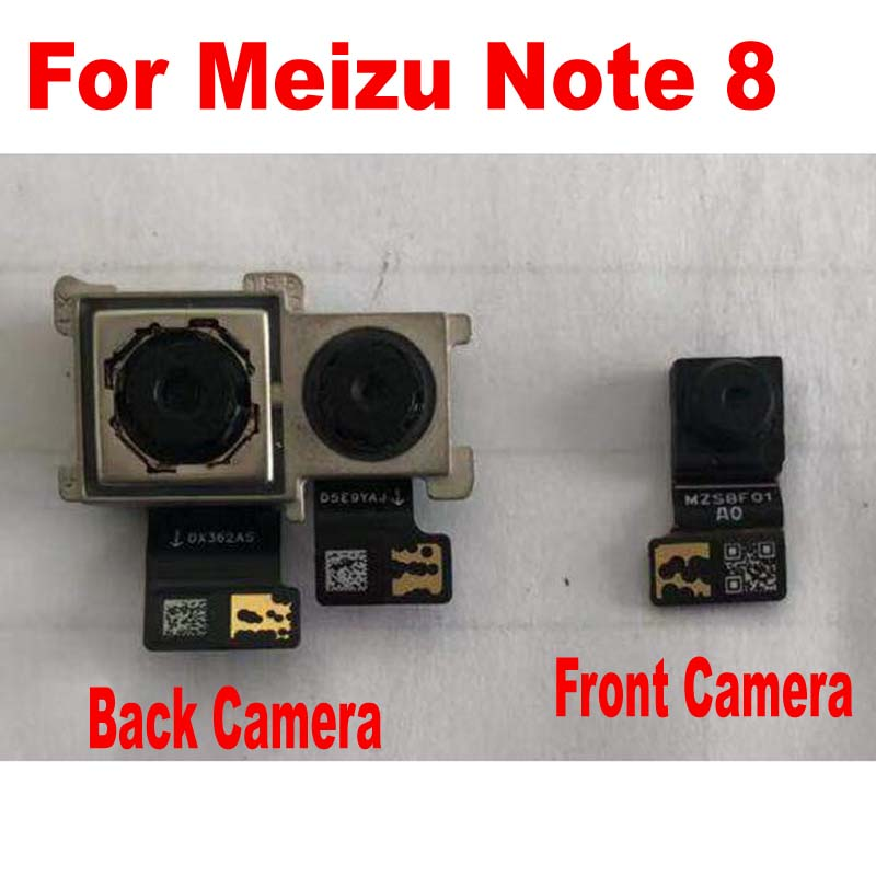 Original LTPro Tested Working Small Facing Front Camera For Meizu Note 8 Note8 M822H M822Q Main Rear Big Back Camera Flex Cable