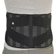 Cinta de correção de postura ortopédica novo elástico ajustável inferior volta cintura trimmer cinto de apoio lombar espartilho