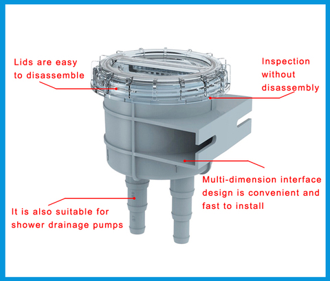 108mm barco marinha entrada filtro filtro de