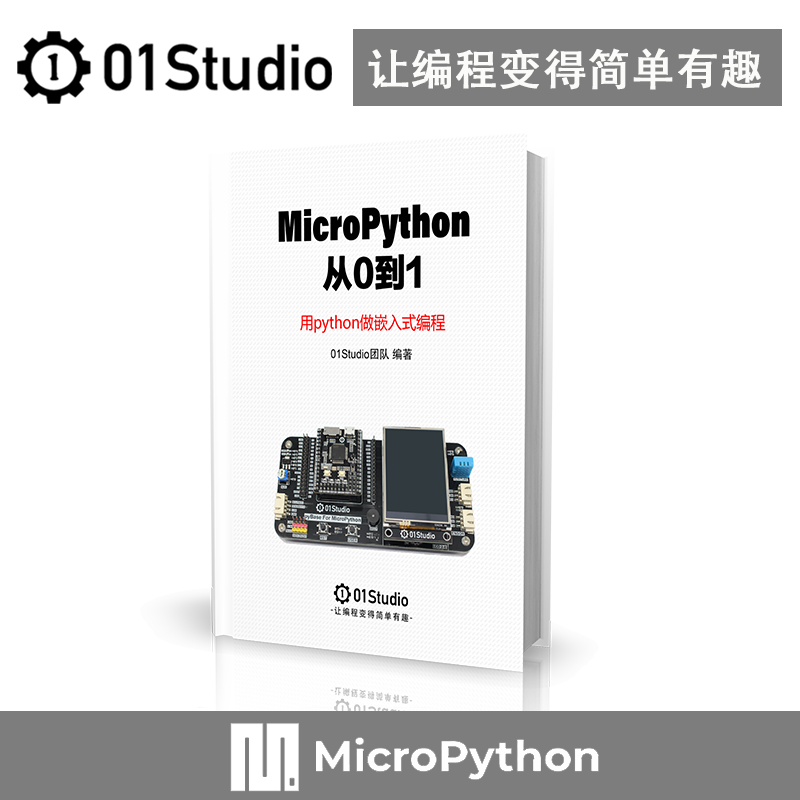 MicroPython From 0 To 1: MicroPython/pyBoard Development Board Kit