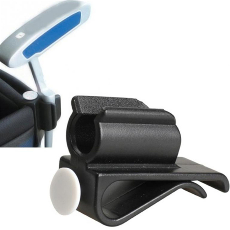 Plastic Durable Golf Putter Clip Golf Club Putter Fix Clips Golf Accessories With White Ball Logo