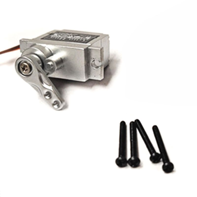 Upgrade Metal Gear Servo + Metal Arm for MN D90 D91 WPL B1 B14 B16 B24 C14 C24 B36 1:16 Truck 4WD RC Crawler 19QF
