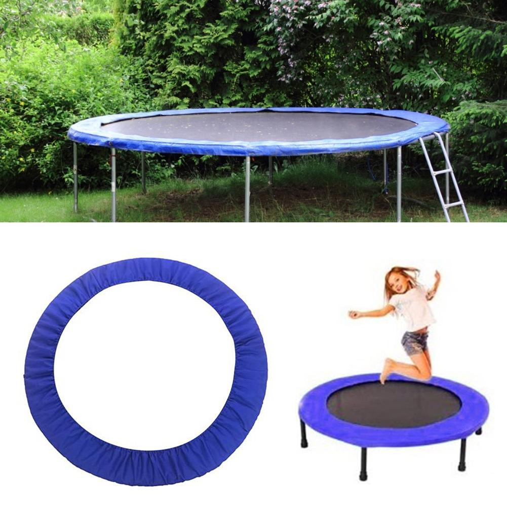 Pvc trampolim proteção capa durável pano oxford