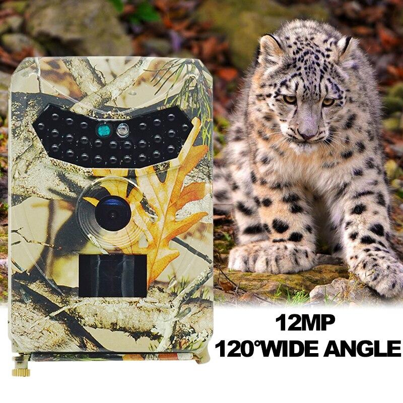 Basic Trail Hunting Camera Outlife PR-100 Trail Camera Infrared IP56 Waterproof Hunting Camera 12MP 1080P Trail Digital Camera