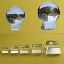 Стеклянная подставка для больших хрустальных шариков 40, 50, 60 мм, 80 мм, 100 мм