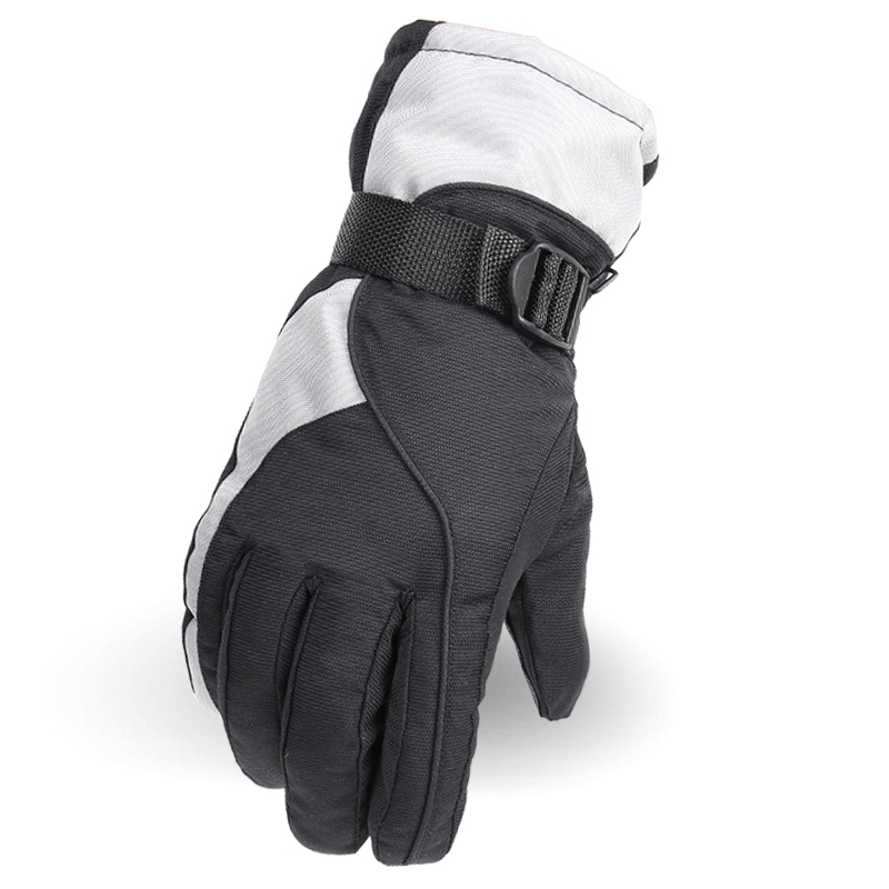 Outdoor Winter Cold Waterproof Riding Warm Cotton Men's Ski Gloves