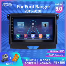 2Din Android 9 0 Car Multimedia Player Car Radio For Ford Ranger 2016 2017 2019 Radio Stereo GPS Navigation 2DIN DVD Player cheap TIEBRO CN(Origin) Double Din 50*4 Android 8 1 JPEG electronic 1024*600 1 8kg Bluetooth Built-in GPS FM Transmitter Mobile Phone