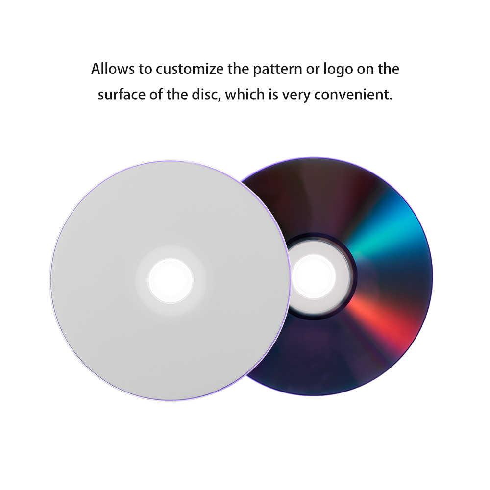 25 pcs 215 min 8x dvd + r dl 8.5 gb disco em branco personalizável dvd para dados & vídeo suporta até 8x dvd + r dl velocidades de gravação
