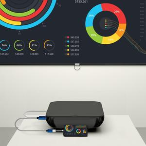 Image 3 - GameSir GTV100 נייד HDMI תצוגת מתאם כבל 1920*1080P שידור עבור iPhone / iPad מסך סנכרון