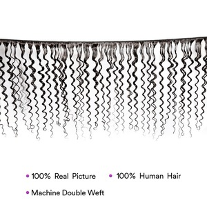 """Image 5 - Stema волосы глубокая волна пряди, человеческие волосы, пряди, бразильские 100% человеческие волосы, не Реми, удлиненные волосы, длина 30 """"32"""" 34 """"36"""" 38 """"40"""""""