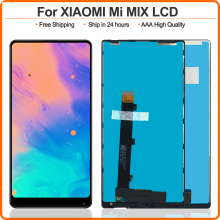 "6.4"" Black/White For Xiaomi Mi Mix LCD Display Touch Screen Digitizer Assembly With Frame For Xiaomi Mi MIX free tools"