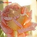 Huacan алмазная вышивка распродажа цветы картины из страз мозайка розы картины на стену декор для дома