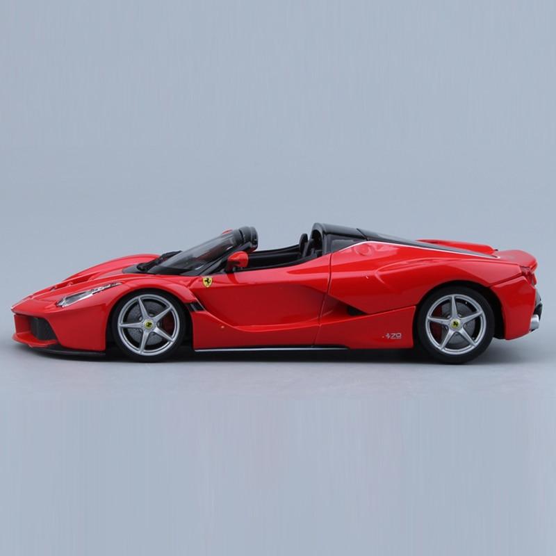 Collectible Ferrari 250 GTO Super Sports Car Diecast Model in 1:24 Scale Red New