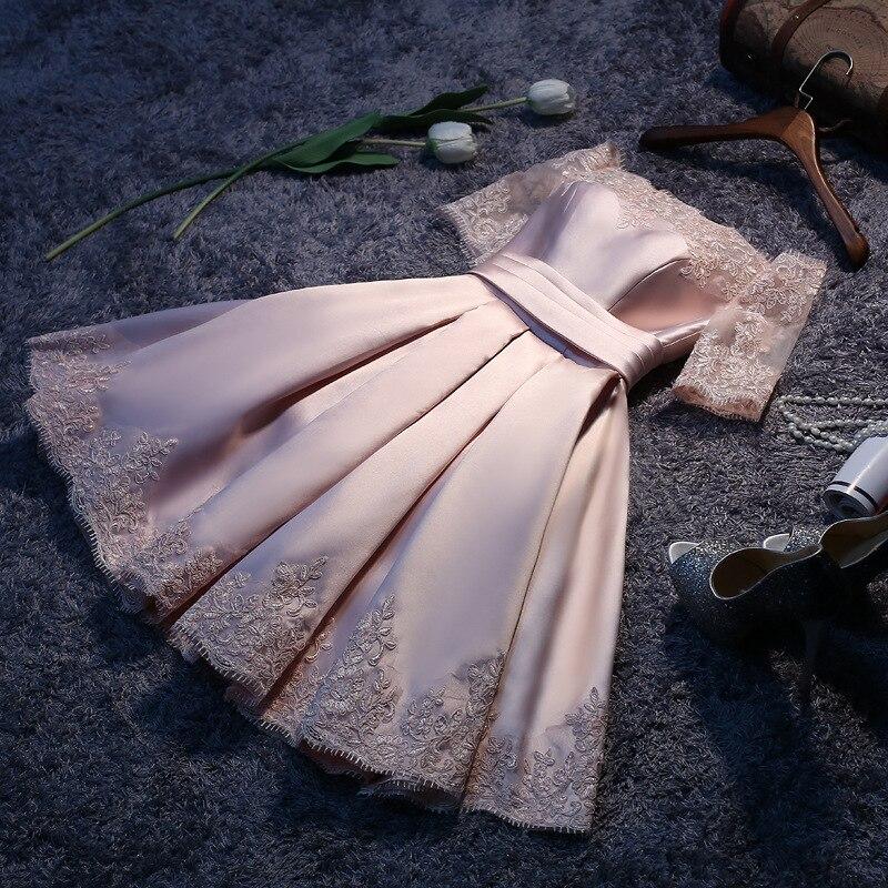 Women's Evening Dress Twill Satin Fabric Lace Short Prom Dress Off Shoulder White Sleeveless Formal Dress Ceremony Dress