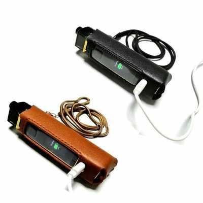 2 個保護革ケース Smok ため RPM 80 ワットポッド mod 蒸気を吸うキットシリコーン肌の質感カバースリーブフィット RPM 80 ワットとストラップ