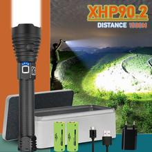 new glare xhp90.2 most powerful led flashlight usb torch xhp70 xhp50 18650 or 26