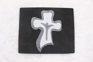 Image 4 - Moule en bois pour ornements jésus croix pour scrapbooking, nouveauté, Thickness 15.8mm