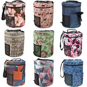 Image 1 - 12 Styles Yarn Storage Knitting Bag Large Yarn Knitting Tote Bag For Crochet Hooks and Knitting Needles Yarn Balls
