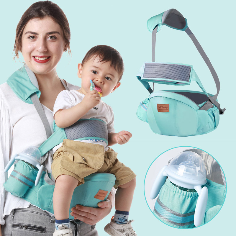 Baby Carrier Summer Waist Stool Baby Wrap Hold Waist Belt Backpack Hipseat Belt Baby Sling Kids Adjustable Infant Hip Seat 0-36M